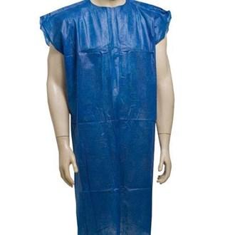 Avental tnt azul sem manga 30gr