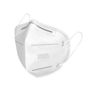 Máscara KN95 pacote c/10un - Com clipe nasal